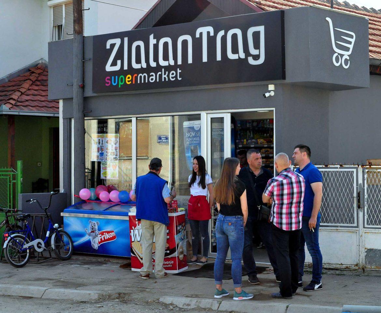 otvoren novi mini market Zlatan Trag u ulici Ivana Milutinovica u Leskovcu